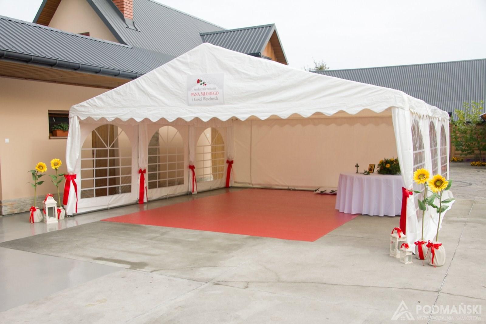 Wypożyczalnia namiotów PODMAŃSKI NAMIOTY Nowy Sącz, Chełmiec, Świniarsko, Brzezna, Podegrodzie, Limanowa